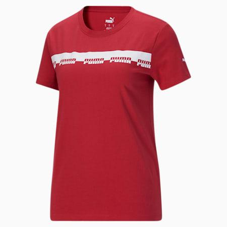 Camiseta Script para mujer, American Beauty, pequeño