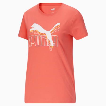 CamisetaRebel para mujer, Georgia Peach, pequeño