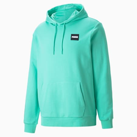 Men's Hoodie, Biscay Green, small-GBR