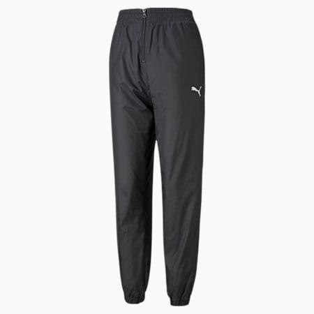Women's Track Pants, Puma Black, small-GBR