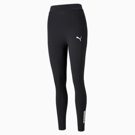 Women's Leggings, Puma Black, small-GBR