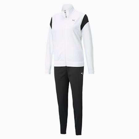 CLASSIC トレーニング スーツ ウィメンズ, Puma White, small-JPN