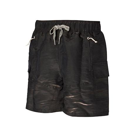 PUMA x RHUIGI Men's Basketball Shorts, Puma Black-Puma Black, small