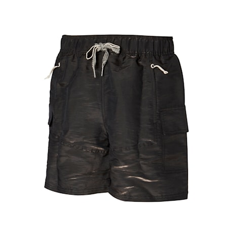PUMA x RHUIGI Men's Basketball Shorts, Puma Black-Puma Black, small-GBR