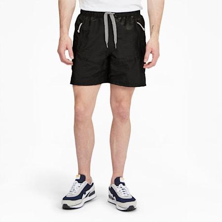 Shorts de básquetbolPUMA x RHUIGI para hombre, Puma Black-Puma Black, pequeño