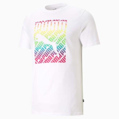 プライド PRIDE Tシャツ, Puma White, small-JPN