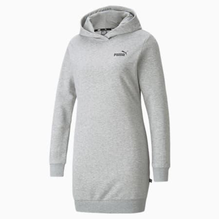 Vestido con capucha Essentials para mujer, Light Gray Heather, pequeño