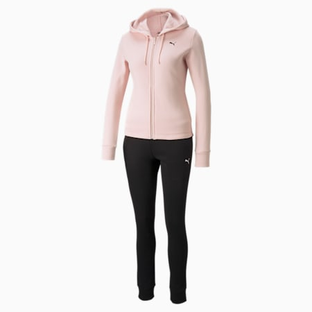 Classic Hooded Women's Tracksuit, Lotus, small-GBR