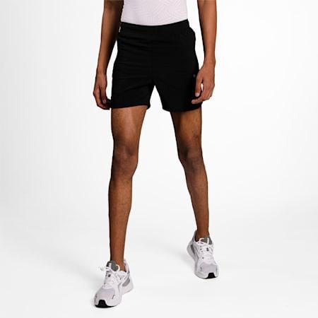 one8 Virat Kohli Boy's Active  Shorts, Puma Black, small-IND