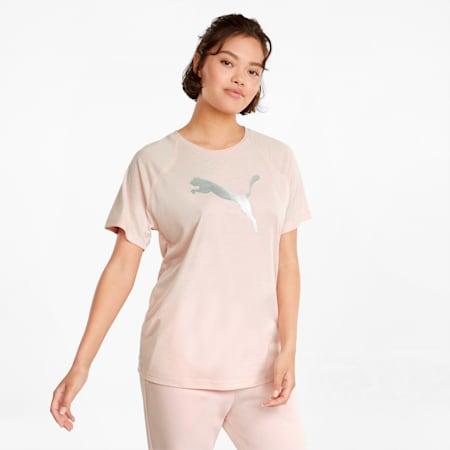 Evostripe Damen T-Shirt, Lotus, small