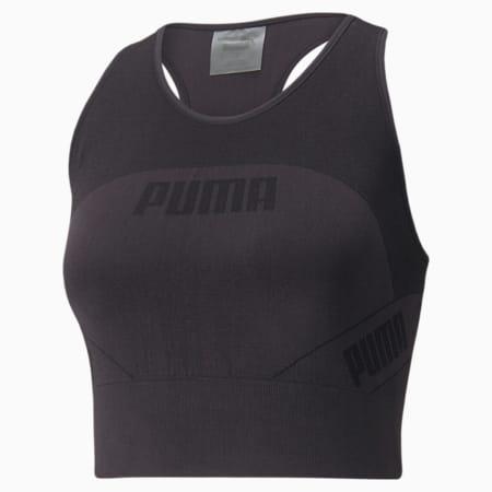 Evostripe EVOKNIT Women's Crop Top, Puma Black, small