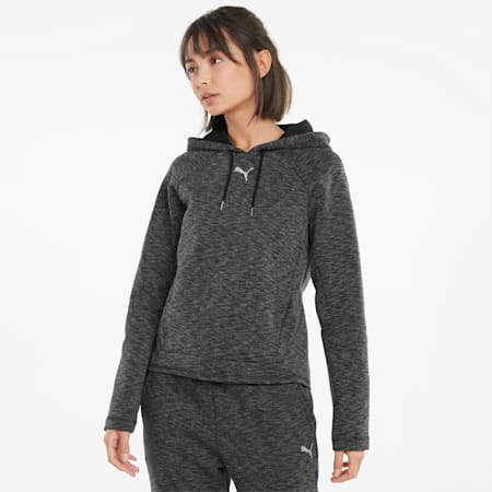 Evostripe Women's Hoodie, Puma Black, small-GBR