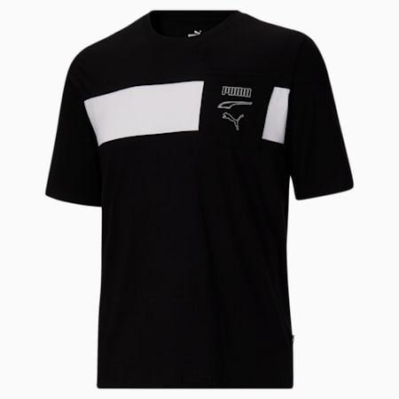CamisetaRebel Advancedpara hombre BT, Puma Black-Puma White, pequeño
