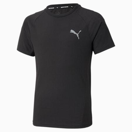 Evostripe Jugend T-Shirt, Puma Black, small