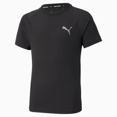 T-shirt Evostripe da ragazzo, Puma Black, small