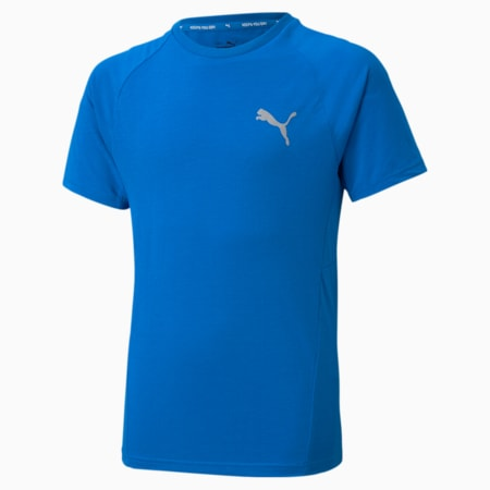 Camiseta juvenil Evostripe, Future Blue, small
