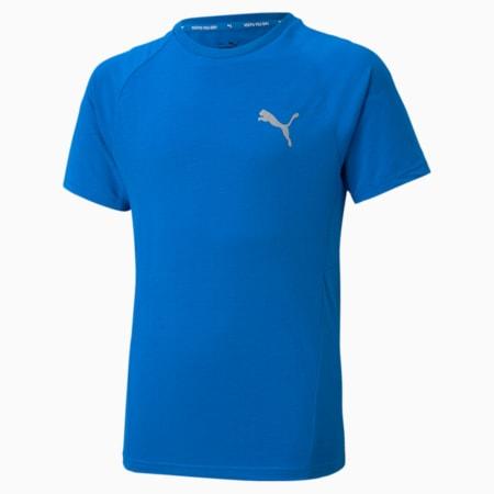 Evostripe Jugend T-Shirt, Future Blue, small