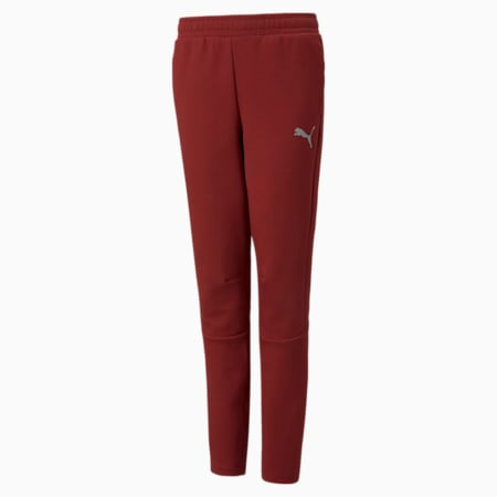 Evostripe Youth Pants, Intense Red, small