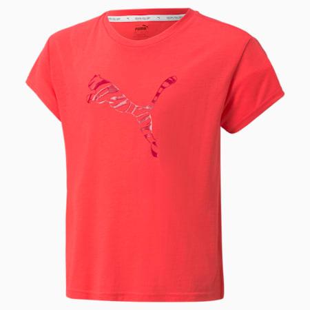 T-shirt Modern Sports, fille, Rose paradisiaque, petit