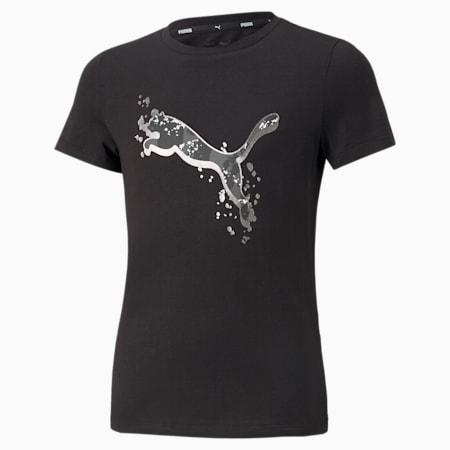 Camiseta Alpha, Puma Black, pequeño