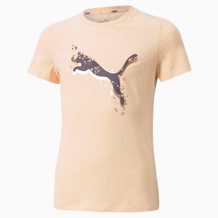 Camiseta Alpha, Peach Parfait, pequeño
