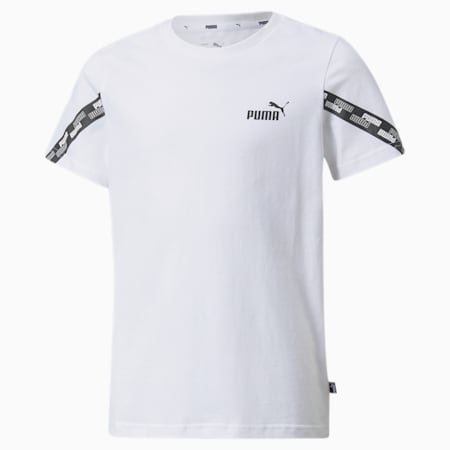 Młodzieżowa koszulka Power, Puma White, small