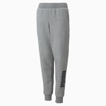 Pantalones deportivos con logo Power para niños, Medium Gray Heather, pequeño