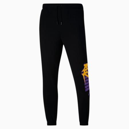 PUMA x KUZMA Men's Sweatpants, Puma Black, small