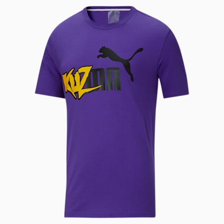 PUMA x KUZMA Summer Herren T-Shirt, Prism Violet, small