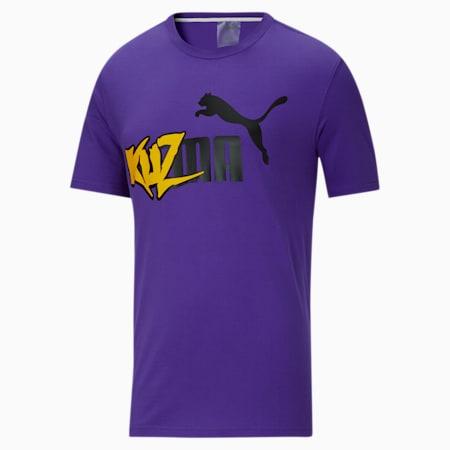 T-Shirt PUMA x KUZMA pour homme, Prism Violet, small