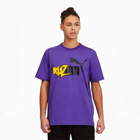 Kuzma Men's Tee, Prism Violet, small