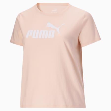 Camiseta Essentialscon logo para mujer PL, Cloud Pink, pequeño