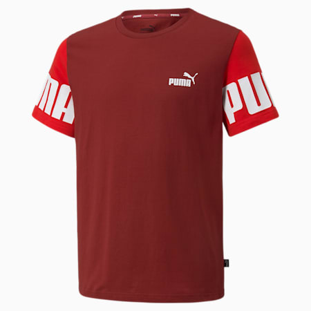 Power Youth Tee, Intense Red, small-GBR