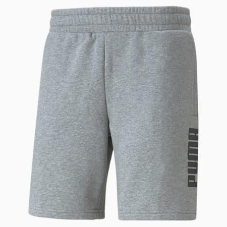 Power  Men's Shorts, Medium Gray Heather, small