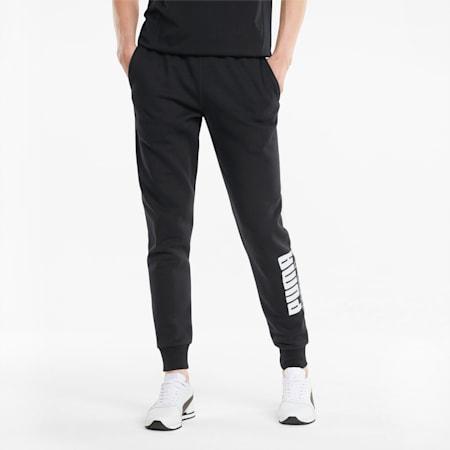 Power  Men's Sweatpants, Puma Black, small-GBR