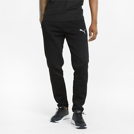 Evostripe 팬츠/EVOSTRIPE Pants, Puma Black, small-KOR