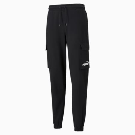 Power  Men's Cargo Pants, Puma Black, small