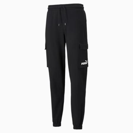 Power  Men's Cargo Pants, Puma Black, small-SEA