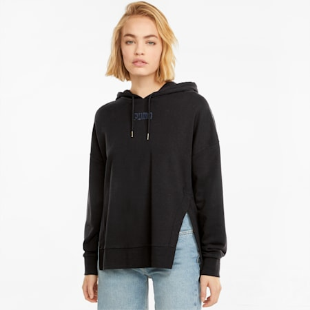 HER hoodie voor dames, Puma Black, small