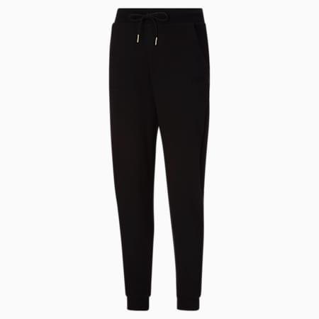 Pantalones deportivos con cintura alta HER para mujer, Puma Black, pequeño