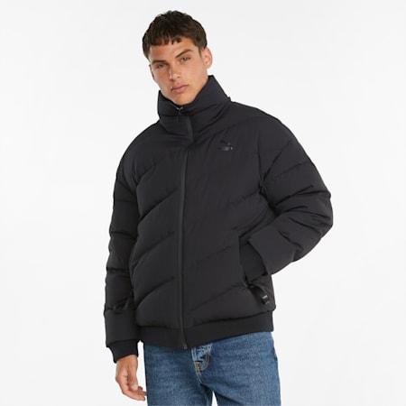 Classics Down Men's Bomber Jacket, Puma Black, small-GBR