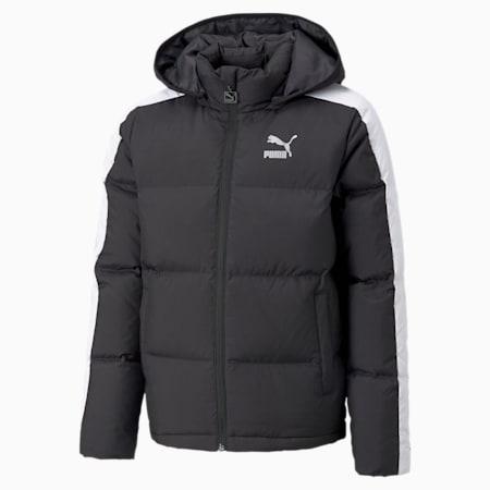 T7 Youth Down Jacket B, Puma Black, small-GBR