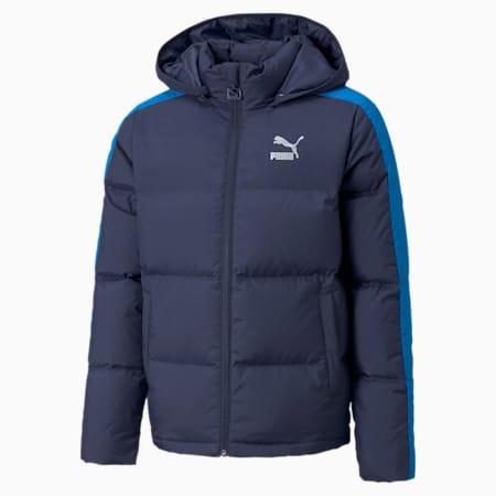 T7 Youth Down Jacket B, Peacoat, small