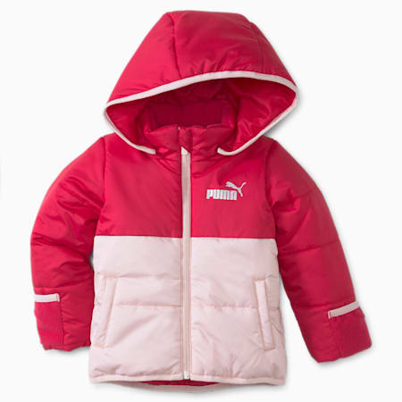 Minicats Padded Youth Jacket, Persian Red, small