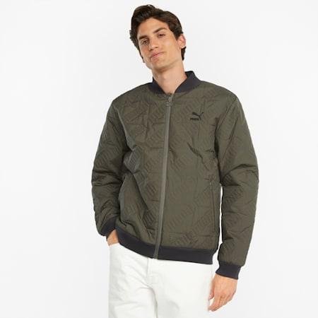 Classics Transeasonal Men's Jacket, Grape Leaf, small