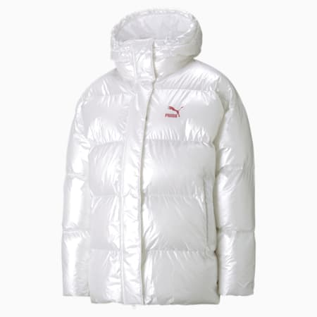 Classics Oversized Women's Jacket, Puma White, small