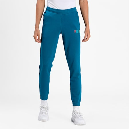 Knitted Men's Pants, Digi-blue, small-IND