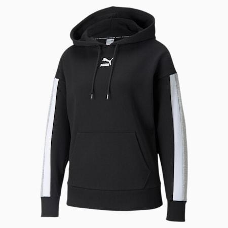 Sudadera con capucha para mujer CLSX, Puma Black, small