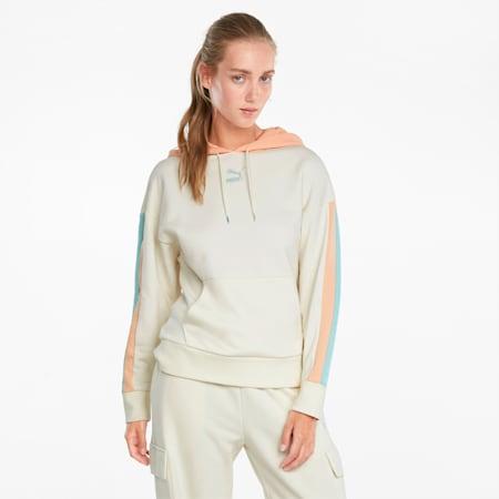 CLSX Women's Hoodie, Ivory Glow-Gloaming, small