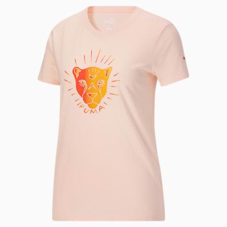 T-shirt X-Ray, femme, Nuage rose, petit